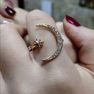 Moon 🌙 and Star ⭐️ Ring